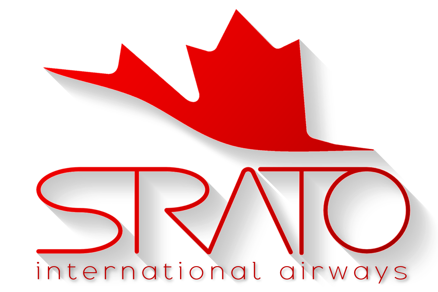Strato International Airways Official Logo